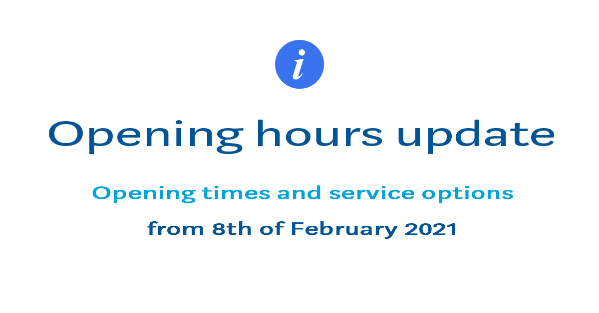 Opening-times-update-feb-8th